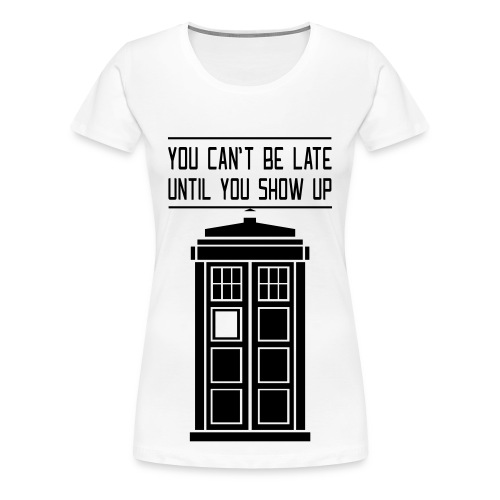 Doctor Who shirt - Women's Premium T-Shirt
