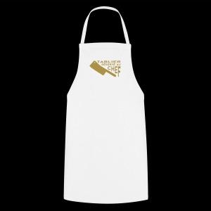 Réservé au Chef (or) - Tablier de cuisine