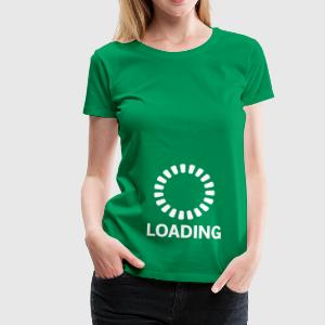 Pregnancy Loading T-Shirts - Women's Premium T-Shirt