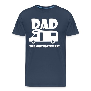 Dad - Old Age Traveller - Men's Premium T-Shirt