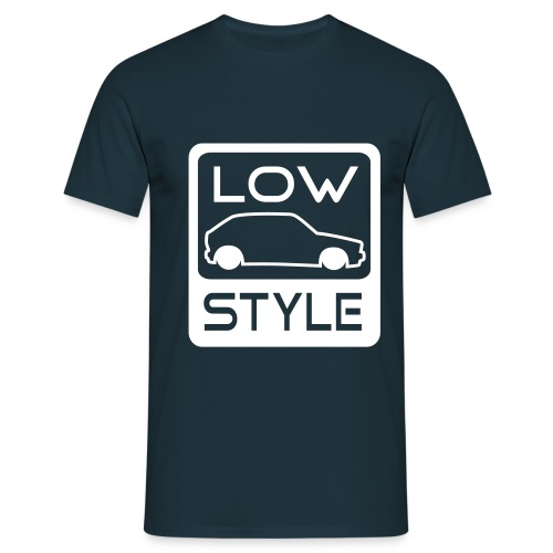 Low style mand - Herre-T-shirt