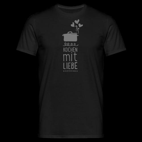 kochen mit liebe v2 (1c) - shirt - Männer T-Shirt