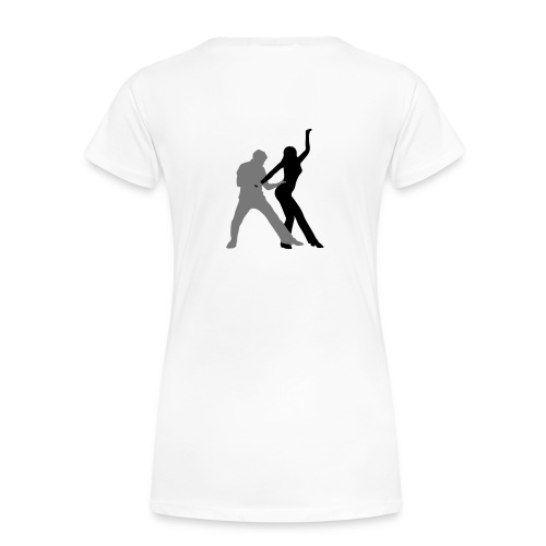 West Coast Swing - back - T-shirt Premium Femme