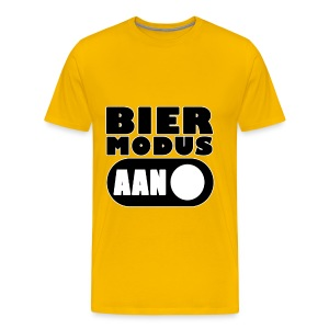 Bier Modus Aan - Party Shirt Men - Men's Premium T-Shirt