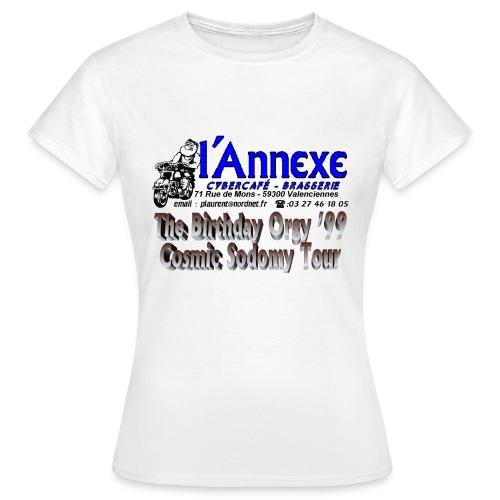 T Shirt Femme du Cosmic Sodomy Tour - T-shirt Femme