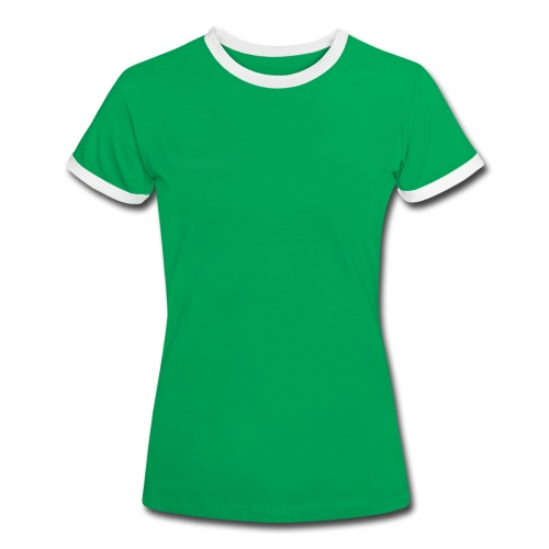 Kontrast T-shirt Dam - Kontrast-T-shirt dam