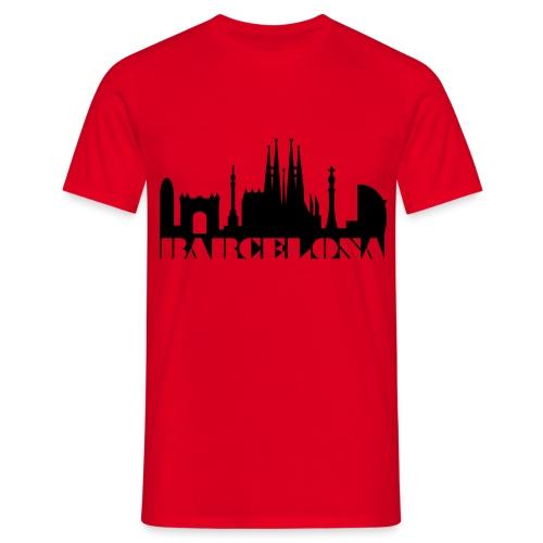 T-shirt Barcelone - T-shirt Homme