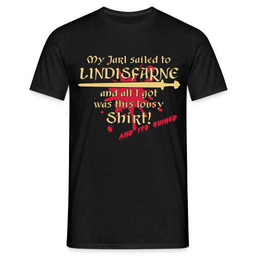 Lousy ruined Shirt from Lindisfarne - Männer T-Shirt