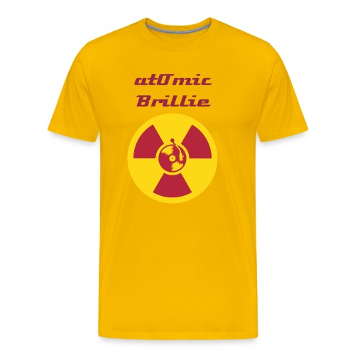 atOmic Brillie Special Edition Yellow - Men's Premium T-Shirt