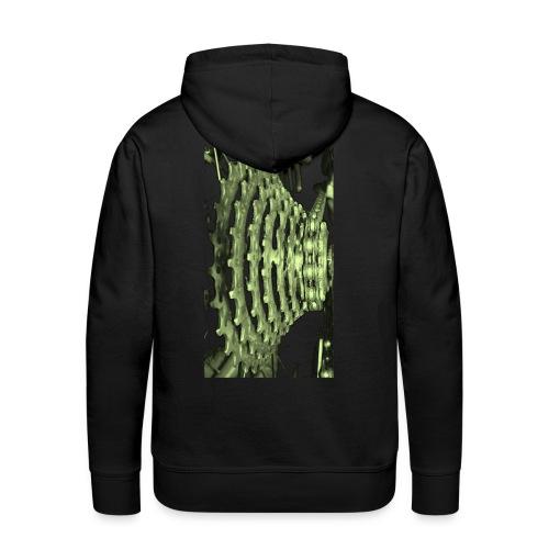 cluster_pale_green_copy - Men's Premium Hoodie