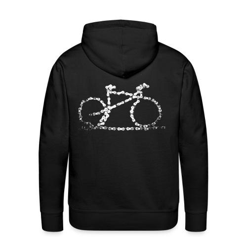 Bike Hoodie Bike Chain - Men's Premium Hoodie