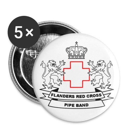 FRCPB - Buttons klein 25 mm (5-pack)