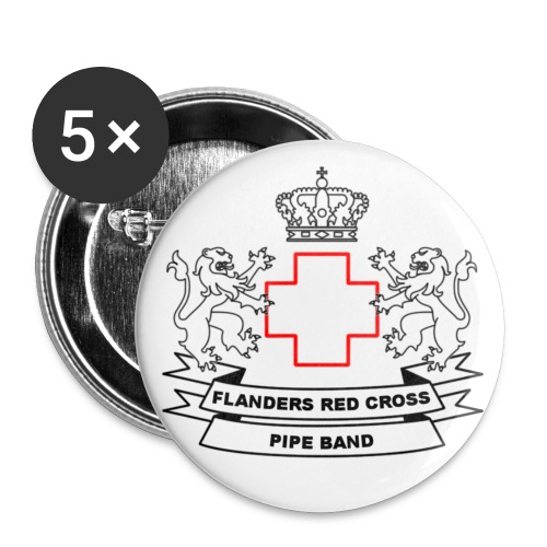 FRCPB - Buttons middel 32 mm (5-pack)