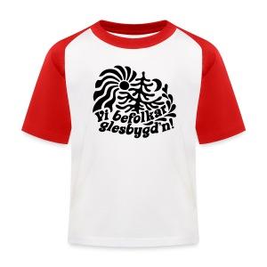 GLESGYGD'N T-shirts - Baseboll-T-shirt barn