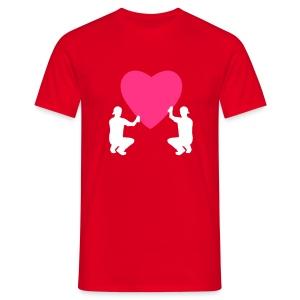 grafffiti love - T-shirt Homme
