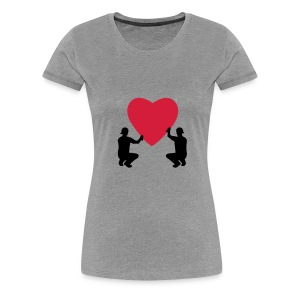 grafffiti love - T-shirt Premium Femme