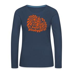 GLESGYGD'N Långärmade T-shirts - Långärmad premium-T-shirt dam