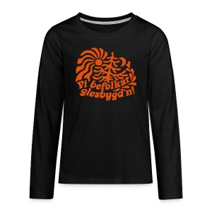 GLESGYGD'N Långärmade T-shirts - Långärmad premium-T-shirt tonåring