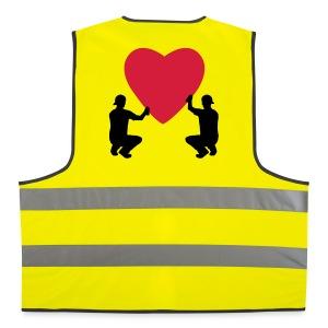 grafffiti love - Gilet de sécurité