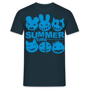Camiseta hombre - MONSTERS,SUMMER TIME