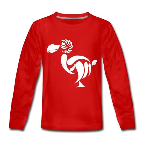 Teenagers' Premium Longsleeve Shirt - dodobarry big bird