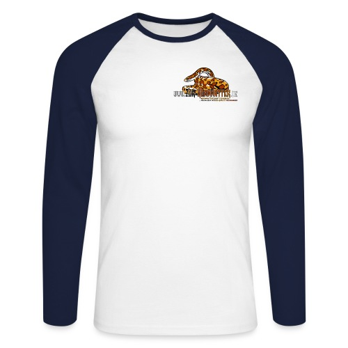 Baseball-Langarm-Shirt - Cornsnake - Männer Baseballshirt langarm