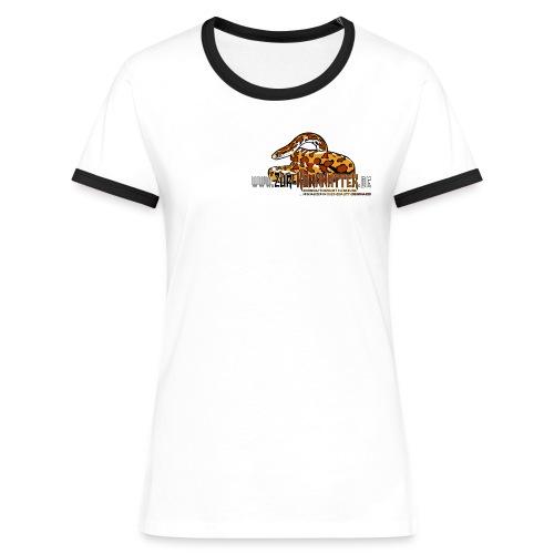Retro-Shirt - Cornsnake - Frauen Kontrast-T-Shirt