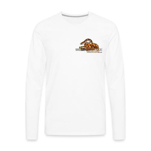 Langarm-Shirt - Cornsnake - Männer Premium Langarmshirt