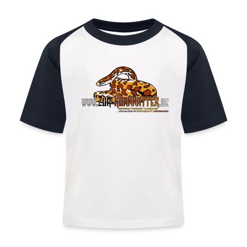 Baseball-Shirt - Cornsnake - Kinder Baseball T-Shirt