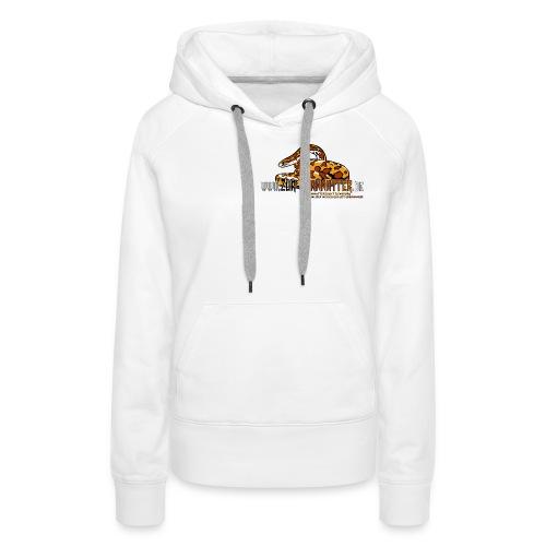 Kapuzen-Pullover - Cornsnake - Frauen Premium Hoodie