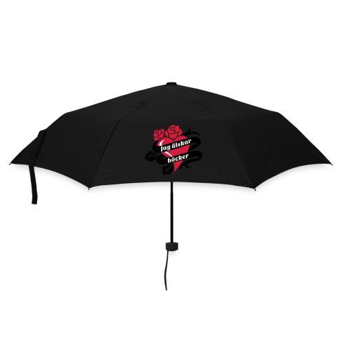 JAG ÄLSKAR BÖCKER! - Paraply (litet)