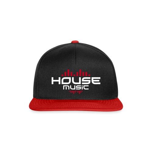 Casquette HOUSSE Music - Casquette snapback