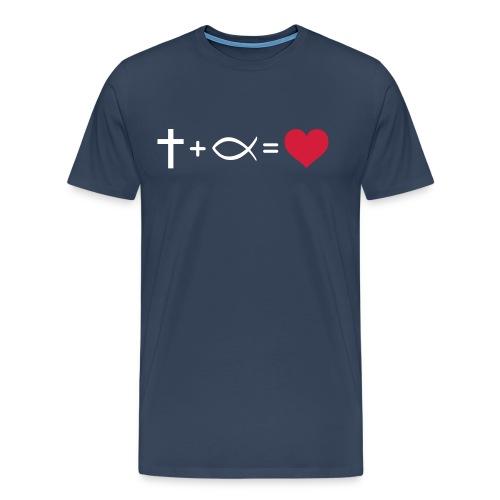 Love Equation - Men's Premium T-Shirt
