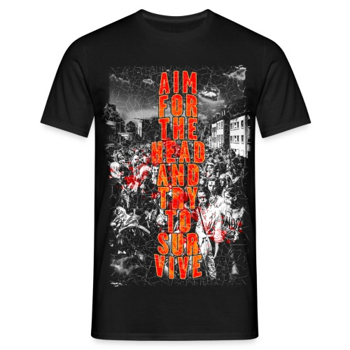 ZOMBIES: aim for the head | Std.Shirt - Männer T-Shirt