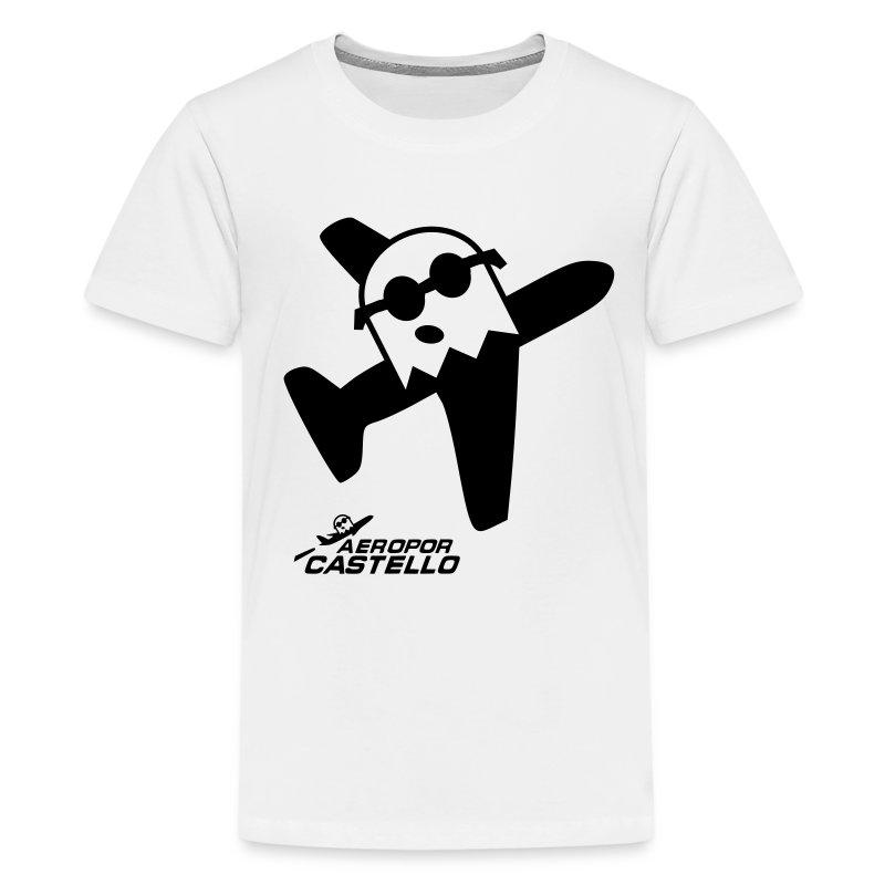 Fantasma d'AeroPor Color Adolescent - Camiseta premium adolescente