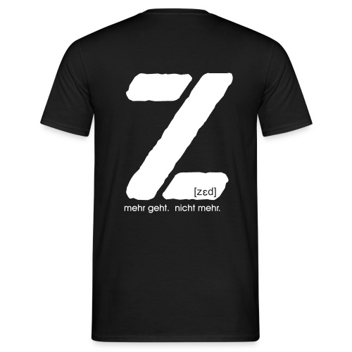 T-Shirt: Z - Männer T-Shirt