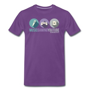 MUSICYOUTUBEGAMING Shirt - Men's Premium T-Shirt
