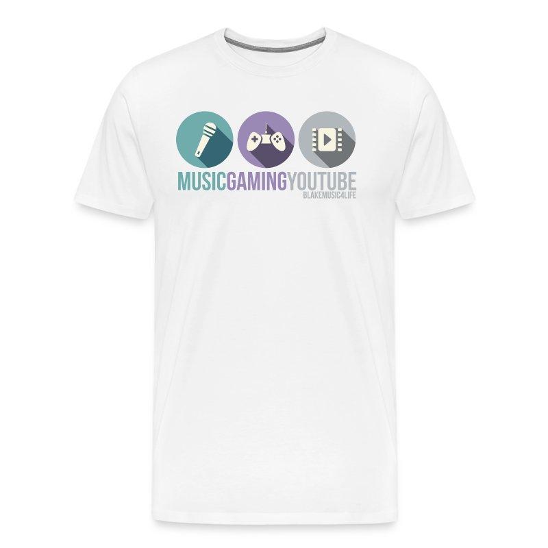 MUSICYOUTUBEGAMING Shirt - Men's Premium T-Shirt