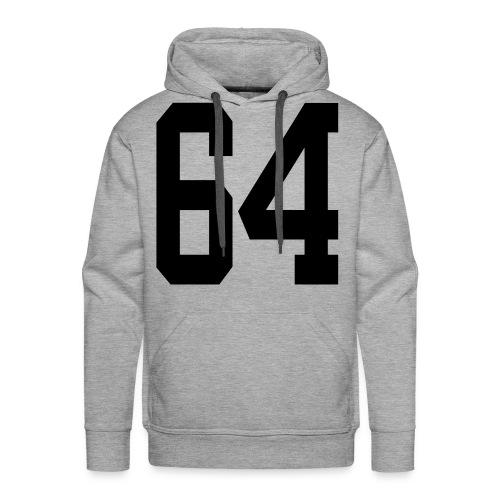 1964 - Sweat-shirt à capuche Premium pour hommes