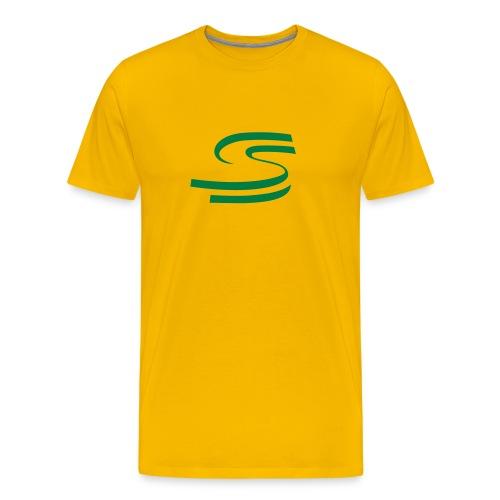Senna logo (many colours) - Men's Premium T-Shirt