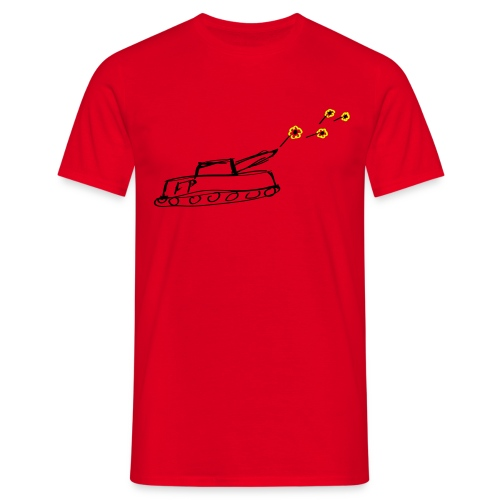 Flower Tank - Mannen T-shirt