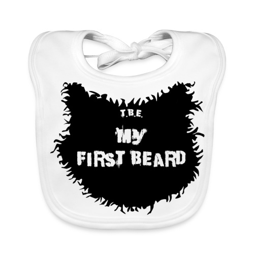 My First Beard Bib  - Baby Organic Bib