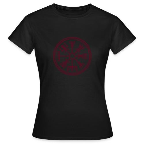 Vegsvisir Girlie-Shirt - Frauen T-Shirt