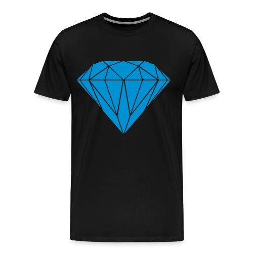 Diamond - Herre premium T-shirt