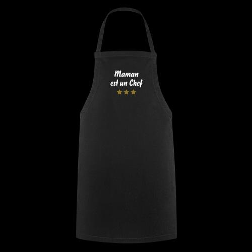 Maman Chef 3 étoiles (étoiles or) - Tablier de cuisine