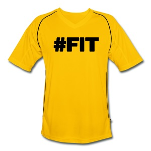 #FIT T-shirts - Mannen voetbal shirt