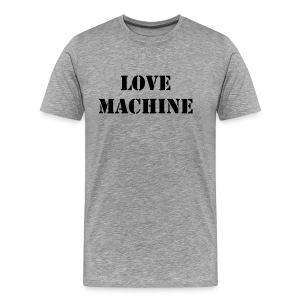 LOVE MACHINE - T-shirt Premium Homme