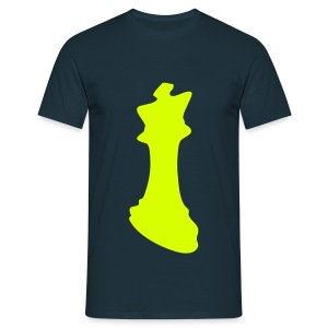 We all love chess : The king ! - T-shirt Homme