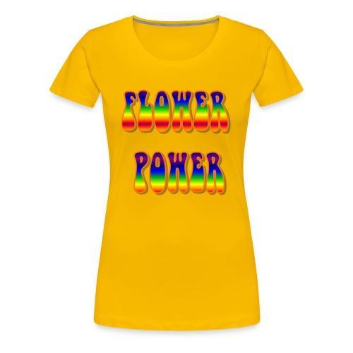 Flower power - Camiseta premium mujer