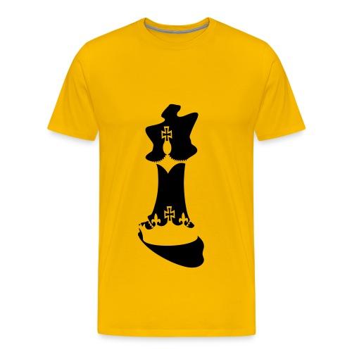 jeu d'echecs : le roi des jeux ! - T-shirt Premium Homme